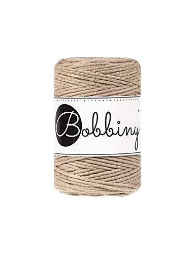 Bobbiny Oeko-Tex Premium - Hilo de macramé de algodón ecol