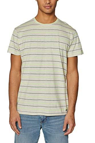 ESPRIT Herren 039EE2K017 T-Shirt, Weiß (Off White 110), XL