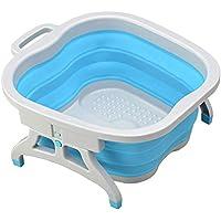 Queta Masajeador Spa Pies, baño de pies plegable, Spa para los pies, Hidromasaje Pies Uso en Hogar y Oficina para alivar los Pies