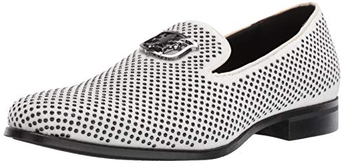 Stacy Adams Men's Swagger Studded Ornament Slip-On Driving Style...