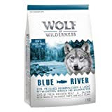 Wolf of Wilderness Adulto 'Blue River' - Salmón (400g)