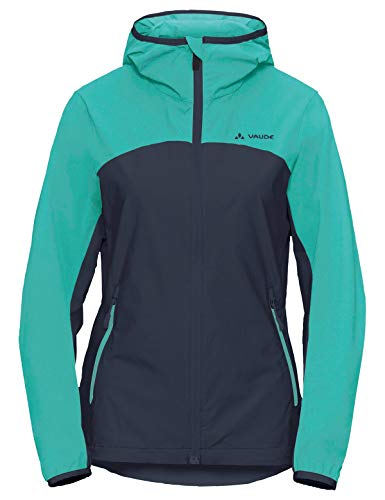 Vaude Damen Jacke Women's Moab Jacket III, Eclipse/Blue, 40, 40863
