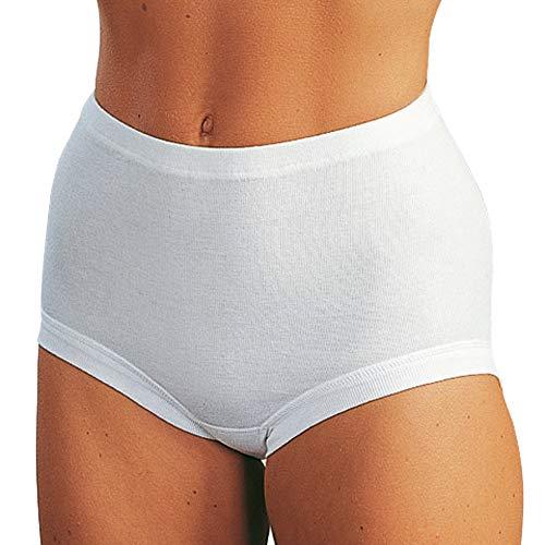 ESGE Damen-Taillenslip 5er-Pack weiß Größe 44