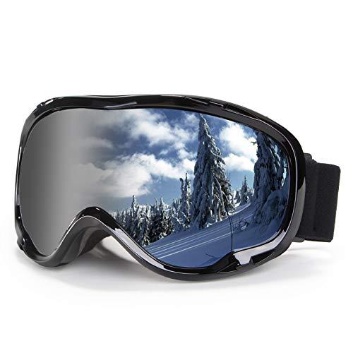 Skiing Goggles Snowboard Goggles over Glasses Goggles OTG 100% UV