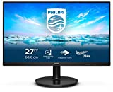 Philips 272V8LA 68 cm (27 Zoll) Monitor (HDMI, DisplayPort, 1920x1080 Pixel, 75 Hertz, FreeSync) schwarz
