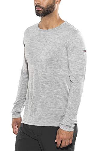 Devold Breeze T-Shirt Homme, Grey Melange Modèle L 2020 T-Shirt Manches Longues