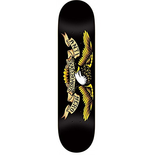 Anti-Hero Classic Eagle Tablett Skateboard-Unisex One Size Schwarz