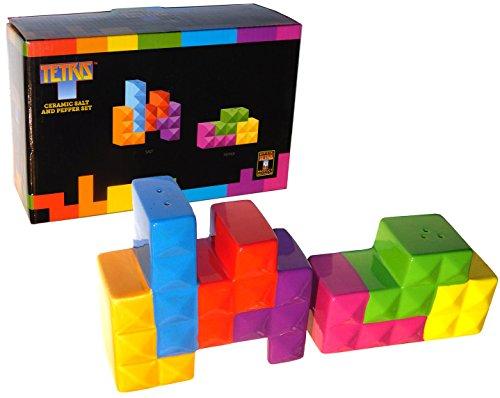 Set di sale e pepe in ceramica ufficiale Tetris – febbraio 2017 Loot Crate DX Exclusive