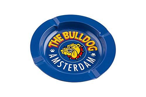 Bulldog Feuille métallique Bleu