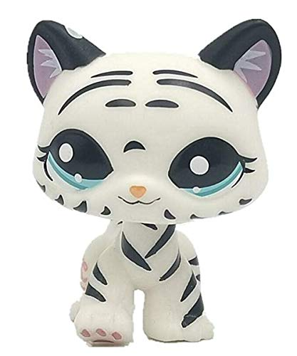 Cute Animal Black Stripes Pet Cat Collection Child Girl Cat Figure Toy