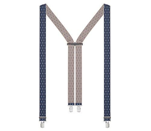 LLOYD Hosenträger Herrenhosenträger Blau 5898, Farbe:Blau, Länge Hosenträger:120 cm