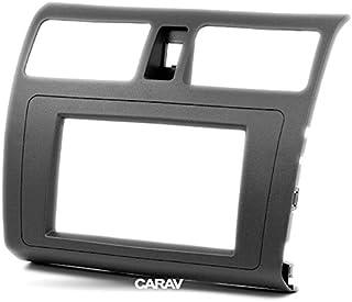 carav 11–259 Doppel DIN Autoradio Radioblende DVD Dash Installation Kit für Suzuki Swift 2004–2010, DZIRE 2008–2010 Faszie mit 173 * 98 mm und 178 * 102 mm