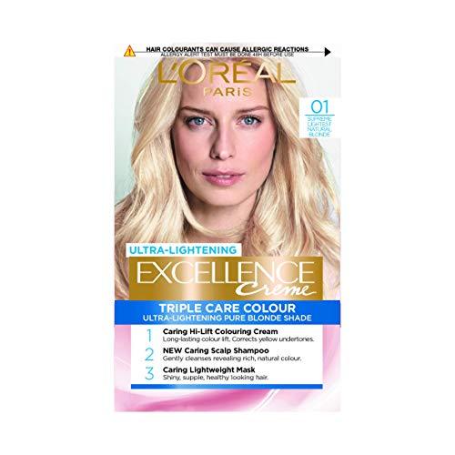 L\'Oreal Excellence Blonde Supreme Permanent Hair Colour 01 Lightest Natural Blonde