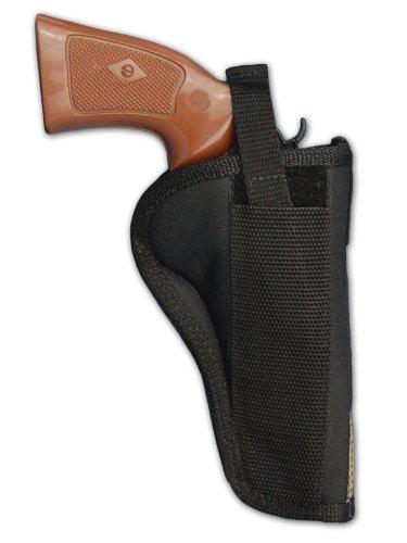 Barsony Gun Concealment Belt Holster for 4' 22 38 357 41 44 Revolvers (Taurus 66 607 627 Tracker, Right)