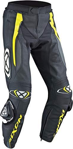 Ixon Vortex Motorrad Lederhose 52 Schwarz/Gelb