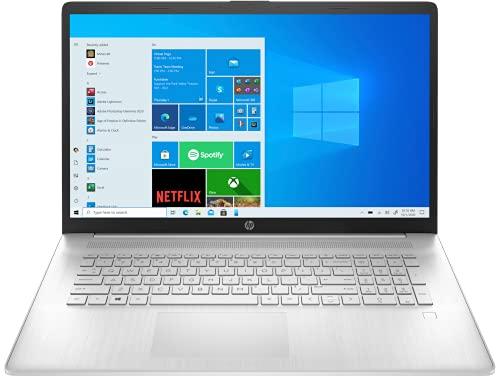 HP 17.3' FHD IPS Premium Laptop   AMD Ryzen 5 5500U Six-Core   16GB DDR4   512GB SSD   Windows 10 Home in S Mode   with Microsoft Office Home Bundle