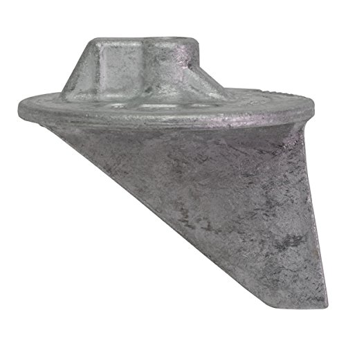 Quicksilver 31640Q4 Aluminum Trim Tab Anode - Mercury or Mariner Outboards and MerCruiser Stern Drives (Mercury Outboard Trim Tab)