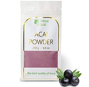 ACAI Polvo | Extracto de Bayas Crudas | 250g 8.8oz | 100% Natural & Sin Azúcar | …comida de alta calidad ~*~