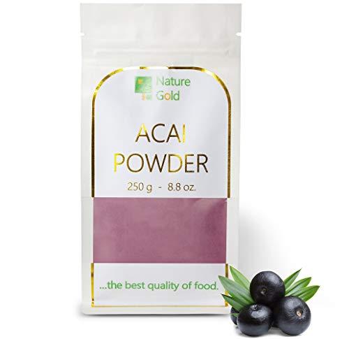 ACAI Pulver | Acai Beeren Extrakt | 250 g 8.8 oz | 100% Naturnah | für Veganer ohne Zucker ~*~