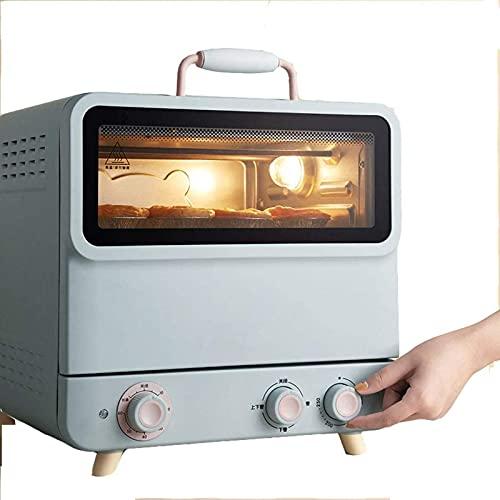 Torre Mini horno 20L, Temporizador 60 minutos Iluminación interna Material de acero inoxidable Horno eléctrico, 100 ~ 250 ℃ Control de temperatura Dualit Mini horno