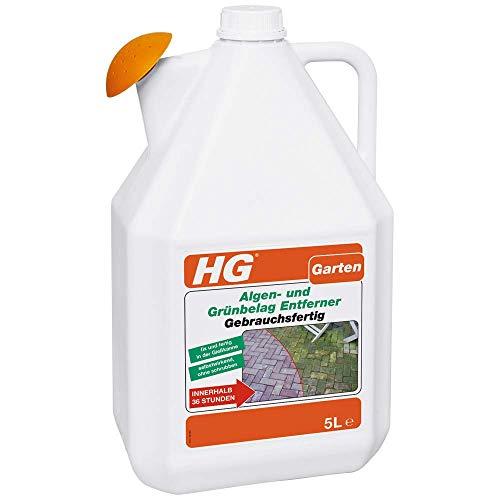 HG 527500105 Algen-und Grünbelag Entferner Gebrauchsfertig 5 L, Weiß