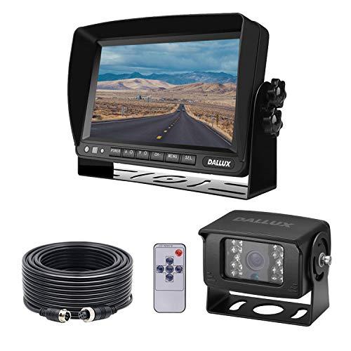 Rückfahrkamera-Monitor-Kit mit 7 Zoll Bildschirm und...