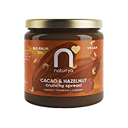 VEGAN CHOCOLATE & HAZELNUT SPREAD – created to delight your taste buds at any time of the day. VELVETY, RICH AND CRUNCHY – infused with cacao and lucuma for a delicious & nutritious twist. SUSTAINABLY SOURCED - Contains 54% Cashews & Hazelnuts of the...