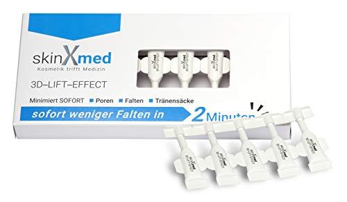 SkinXmed 3D-Lifting Filler-Creme für Hals, Gesicht & Dekolleté | strafft, glättet und festigt Ihr Hautbild | mit Pullulan, Akazie
