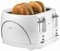 Sunbeam 6277 4-Slice Toaster with Cancel Button, White