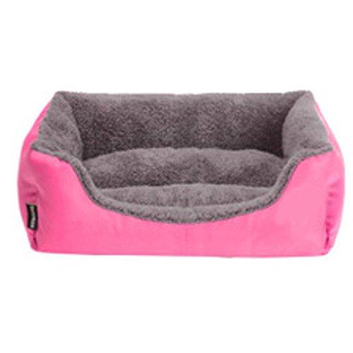 Lozse cojín Caseta para Perros canile de Gamuza Rectangular Pet Mat Nido Gato para el Perro y Mascotas