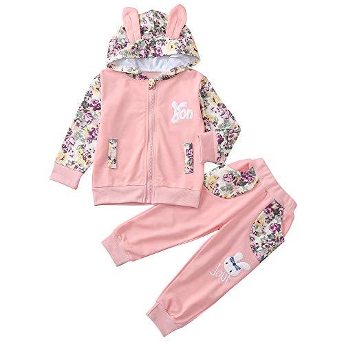 Bébé fille robe et à manches courtes Gilet Set à rayures rose Set ex store 1 m à 9-12 m