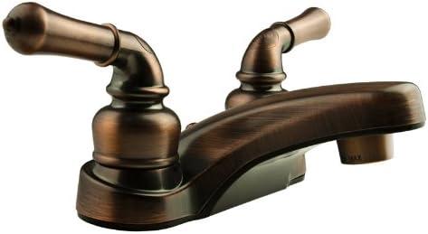 Dura Faucet DF-PL700C-ORB RV Bathroom Faucet with Classical Handles (Oil Rubbed Bronze)