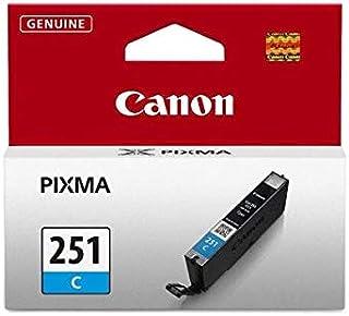 Canon 6514B001 CLI-251C Ink Cartridge - Cyan - Inkjet - 304 Page - OEM