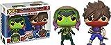 Pack Pop! Marvel Vs Capcom Infinite - 2 Figuras Gamora Vs. Strider