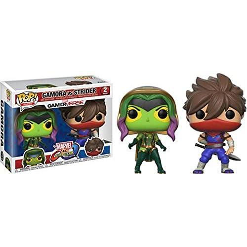 Funko- Games-2 Pack Gamora Vs Strider Marvel Other Figurina, Multicolore, 22776