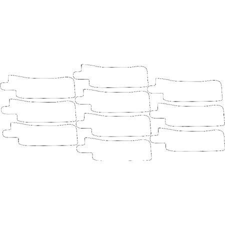 Nasogastric or Oxygen Tube precut Adhesive Tape be Brave x 10 Pack. Left Side