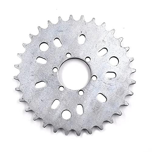 Piñón de dientes 32T for 2 tiempos 415 cadena 49cc 50cc 66cc 80cc motor motorizado bicicleta pulsera de bicicleta (Color : A)