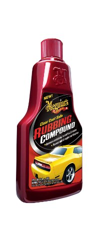 Meguiar's G18016 Clear Coat Safe Rubbing Compound - 16 oz.