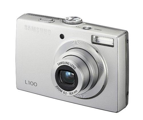 Samsung L100 Digitalkamera (8 Megapixel, 3-Fach Opt Zoom, 6,4 cm (2,5 Zoll) Display) Silber