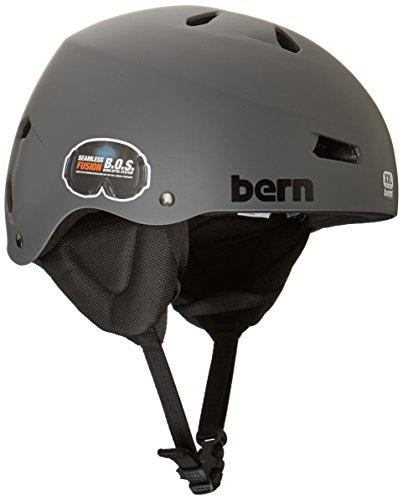 Bern Herren Helm Team Macon All Season, Herren, Team Macon, Matt Grau