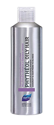 PHYTO Phytheol Oily Hair Purifying Scalp Exfoliating Shampoo, 6.7 fl oz