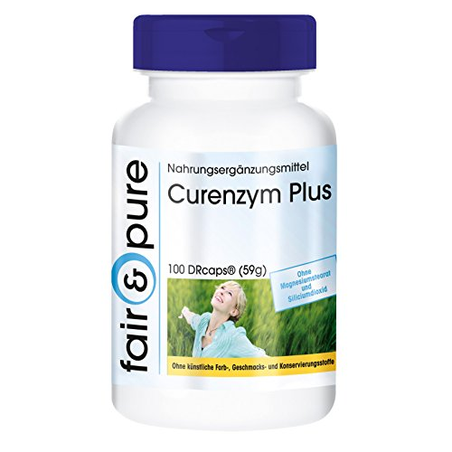 Digestive enzymes - Enzyme Complex - Contains bromelain, Trypsin, chymotrypsin and Rutin - 100 DRCaps