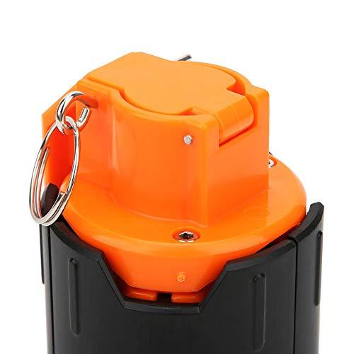 Alomejor Handgranate für Granaten CS Grenade Plastikwasserperlenbombe Wasser-Kugelbombe Schießspiel Spielzeug für Kinder Teens