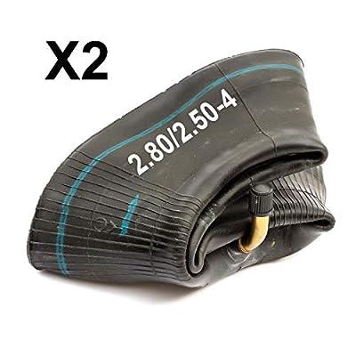 2 Inner Tube 2.50-4 Mobility 2.80 x 4 Wheelchair Tyre 2.50x4 Innertube 2.80-4