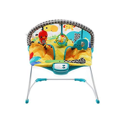 XL- Altalena Compatta Soothe Sdraietta Culla oscillante per Bebè Modello Superior ComfiPlus con musica e vibrazioni per bambini