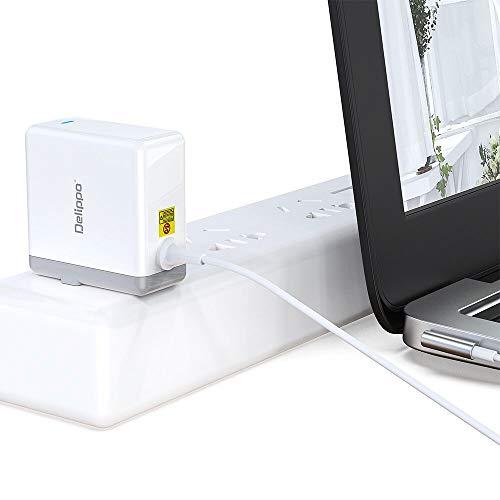 Delippo 14.5V 3.1A Cargador Adaptador Ordenador Portátil for MacBook 45W Magnetic Connector AC Power Adapter Replacement Charger for MacBook Air A1237 A1244 A1304 A1377