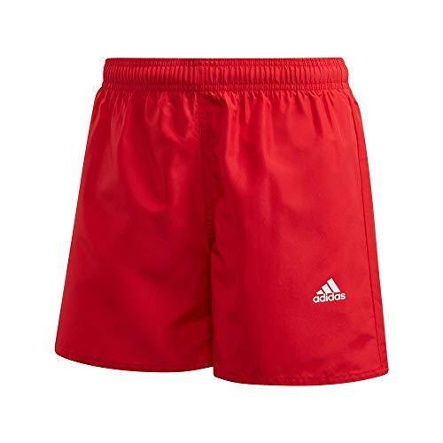 adidas YB BOS Shorts Bañador, Unisex niños, Escarl, 140 (9/10 años)