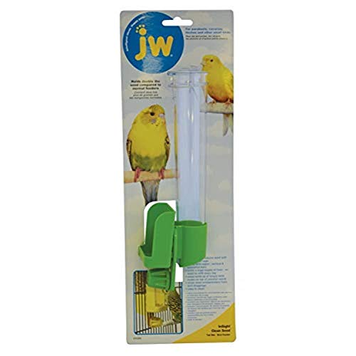 JW Pet Company Clean Water Silo Waterer Bird Accessory, Regular (Colors Vary)