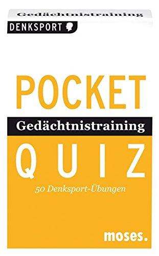 POCKET-QUIZ: GEDAECHTNISTRAINING (Pocket Quiz / Ab 12 Jahre /Erwachsene)