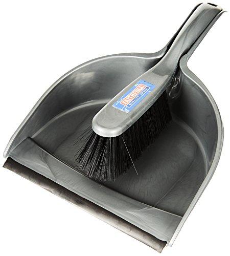 Faithfull FAIBRDUSTSET Plastic Dustpan and Brush Set 220 mm Wide
